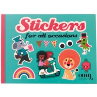 "Livre de Stickers ""For All Occasions"""