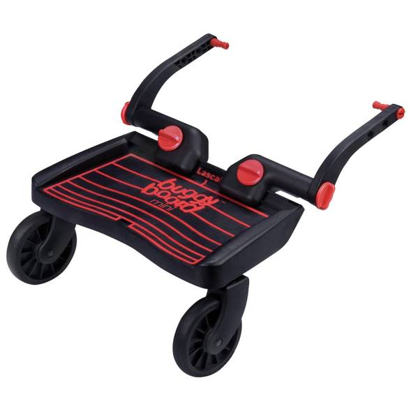 """Planche à roulettes BuggyBoard Mini """"Noir/Rouge"""""""