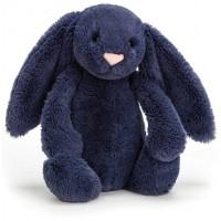 Bashful Bunny Navy (18 cm)