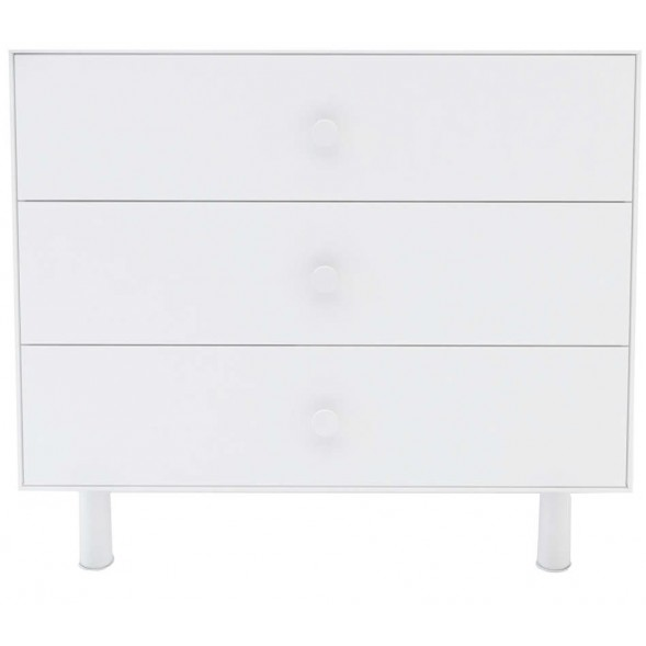 Commode 3 tiroirs merlin - blanc / base Classic - Oeuf NYC