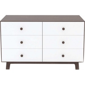 Commode merlin 6 tiroirs - blanc - oeuf nyc -