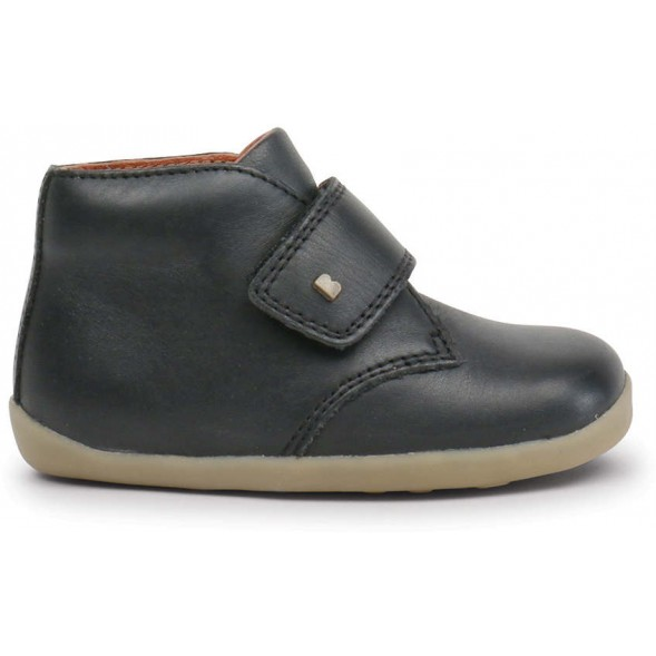 "Bottines en cuir Step Up ""Desert"" Noir"