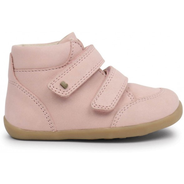 "Bottines en cuir Step-up ""Timber"" Rose Blush"
