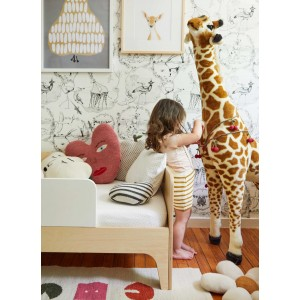 "Lit enfant junior 70x140 en bois Perch ""Noyer"" oeuf nyc"