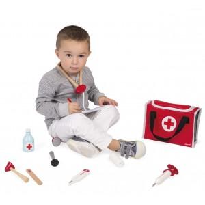 Valisette du docteur pour enfant - janod -