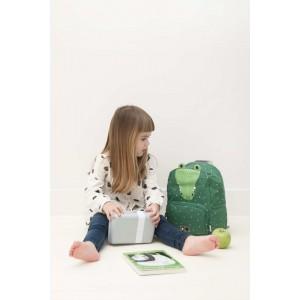"""Sac à dos enfant maternelle en coton imperméable """"Mr Crocodile"""" Trixie Baby"""