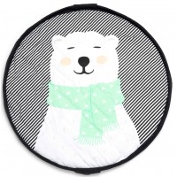 "Sac/Tapis de jeu Soft ""Polar Bear""  Play & Go"