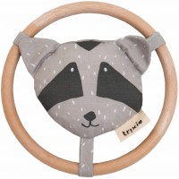 "Hochet en coton bio ""Mr Raccoon"" Trixie Baby"