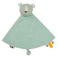 "Doudou en coton bio ""Mr Polar Bear"" Trixie Baby"