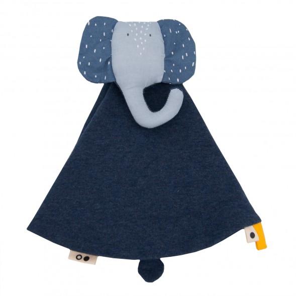 """Doudou en coton """"Mrs Elephant"""""""