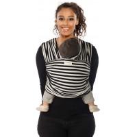 "Echarpe de portage Tricot-Slen Design ""Black & White"""