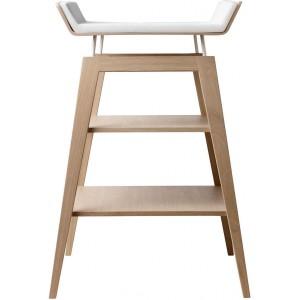 Table à langer en chêne massif - leander