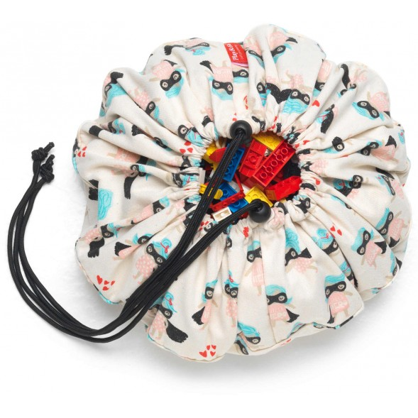 "Mini sac à jouets ""Super Girl"""