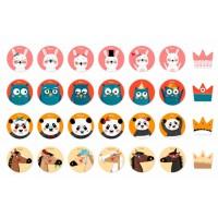 """Jeu Memory Game """"King of Pandas"""""""
