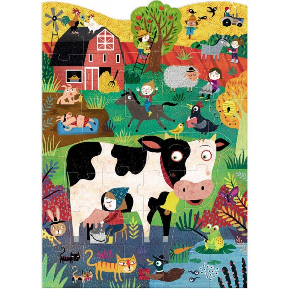 "Puzzle ""Moo"" (3-6 ans)"