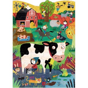 "Puzzle ""Moo"" (3/6 ans)"
