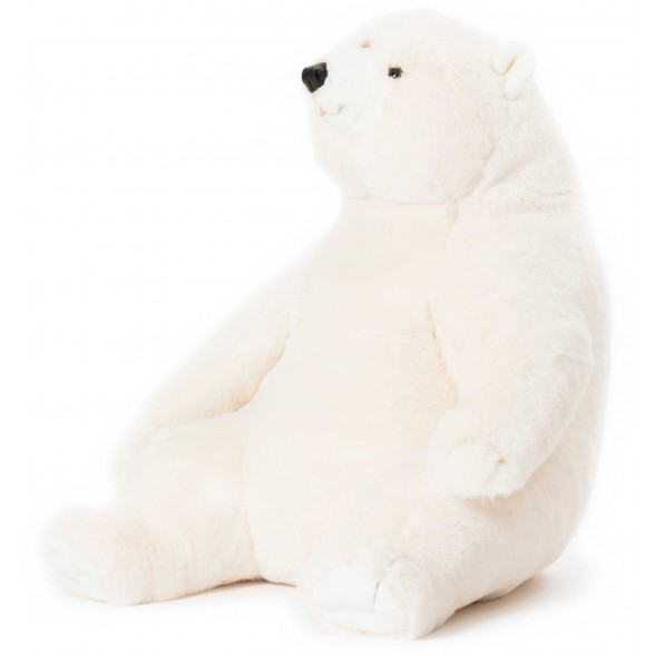 Peluche Ours polaire Victor (64 cm)
