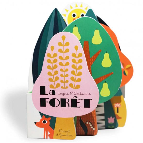"""Livre d'éveil en carton """"La Forêt""""  (6 mois et +)  d'Ingela P. Arrhenius"""