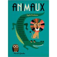"""Livre géant  """"Animaux """"(12 mois et +) d'Ingela P. Arrhenuius"""