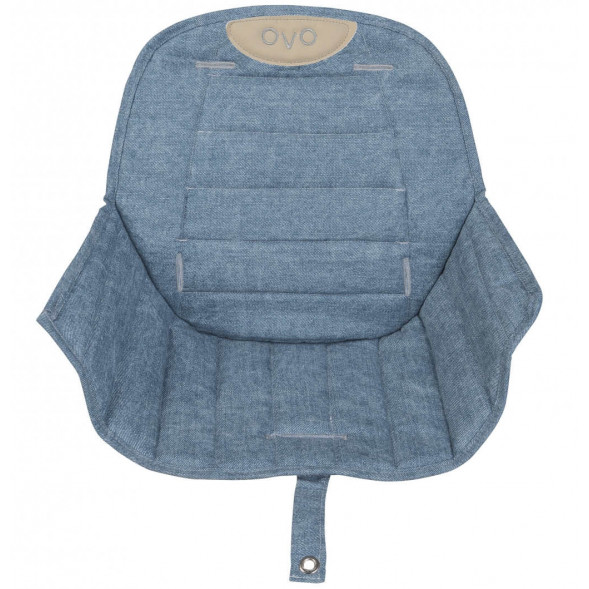 "Assise pour chaise Ovo ""Jeans"""