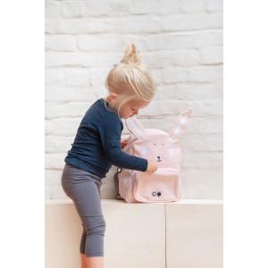 """Sac à dos fille maternelle en coton imperméable """"Mrs Lapin"""" Trixie Baby"""