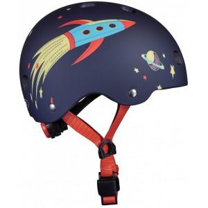 """Casque velo enfant """"Rocket"""" avec umière LED Micro"""