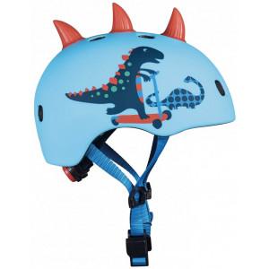 Casque enfant Dinosaure 3D avec LED (53/58cm) Micro