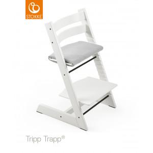 Chaise haute  enfant évolutif tripp trapp en bois Blanc Stokke