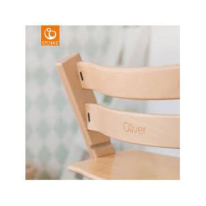 Chaise haute  enfant évolutif tripp trapp en bois Noir Stokke