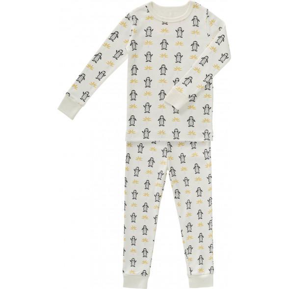"""Pyjama 2 pièces en coton bio """"Pingouins"""""""