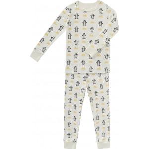 "Pyjama enfant 2 pièces en coton bio ""Pingouins"""