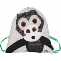 Rusksack enfant Mibo Gorille en coton bio Coq en Pâte