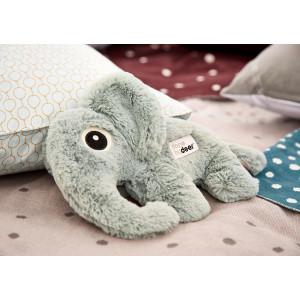 Peluche elphee elephant bleu done by deer