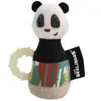 Maracas bébé Rototos Le Panda Deglingos