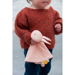 "Doudou en coton bio ""Mr Rabbit"" Lapin Trixie Baby"