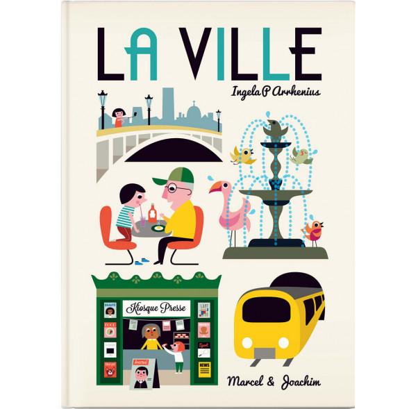 """Livre géant  """"La Ville """"(2 ans et +) d'Ingela P. Arrhenius"""