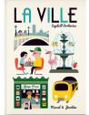 """Livre enfant géant  """"La Ville"""" (2 ans et +) d'Ingela P. Arrhenius Marcel & Joachim"""