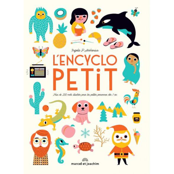 """Livre bébé d'éveil """"L'encyclopetit"""" 'Ingela P. Arrhenius 12 mois Marcel & Joachim"""