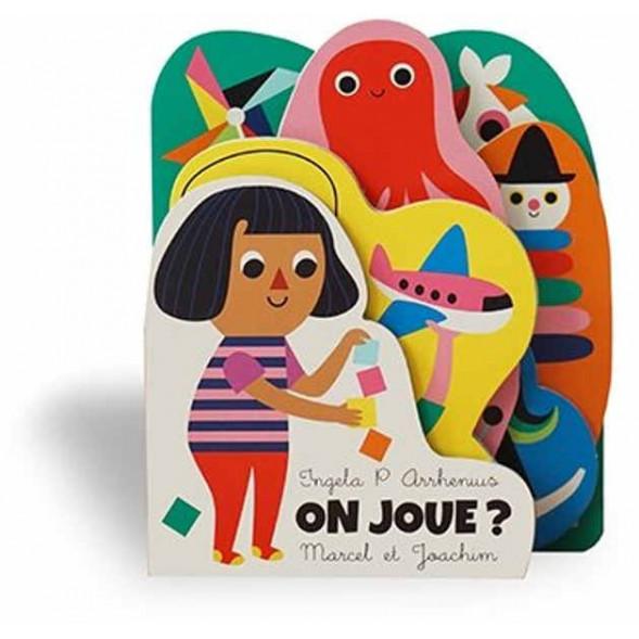 """Livre d'éveil en carton """"On joue ?"""" d'Ingela P. Arrhenius"""