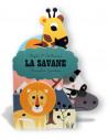 """Livre d'éveil """"La Savane """" d'Ingela P. Arrhenius Marcel et joachim"""