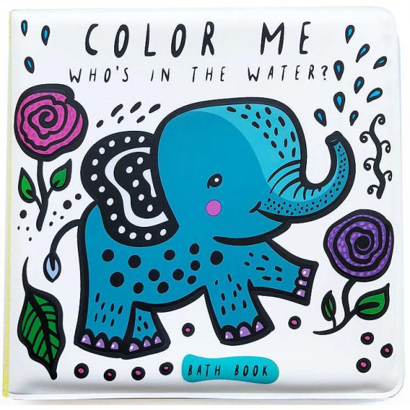 """Livre de bain à colorier """"Water"""""""