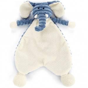 Doudou bébé plat Cordy Roy Elephant Jellycat