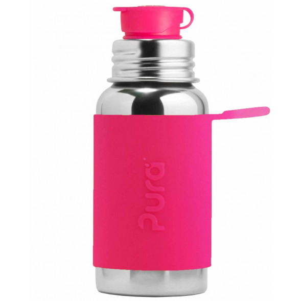 "Gourde en inox (550 ml) Sport ""Rose"""