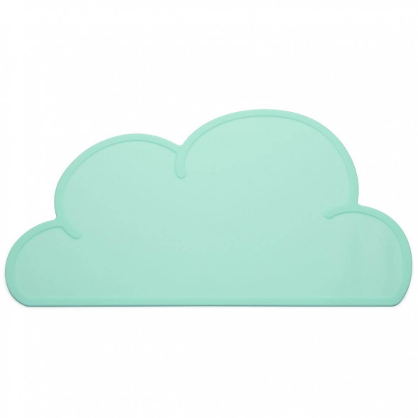 "Set de table en silicone Nuage ""Aqua"""