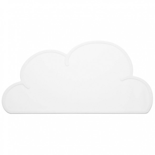 "Set de table en silicone Nuage ""Blanc"""