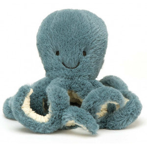 Peluche Poulpe Pieuvre Storm Octopus  (14 cm) Jellycat