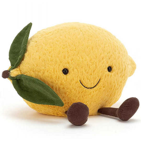 Peluche Amuseable Citron (27 cm)