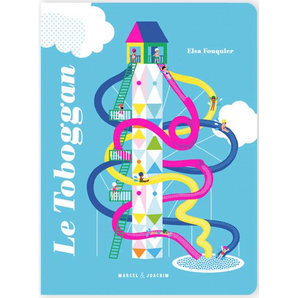 """Livre """"Le Toboggan"""" d'Elsa Fouquier (3 ans et +)"""