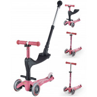 "Trottinette enfant 3 roues Mini Micro 3-en-1 Deluxe Plus ""Rose"" Micro Mobility"