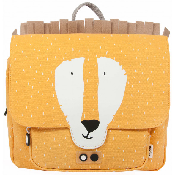 "Cartable en coton hydrofuge ""Mr Lion"""